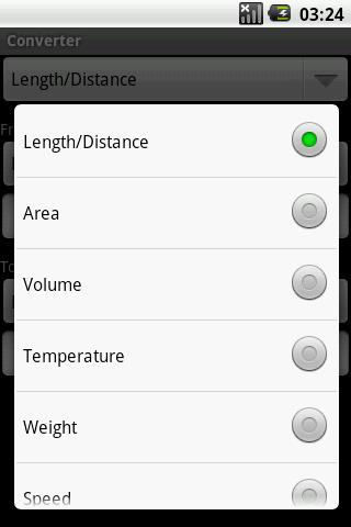 Converter - screenshot