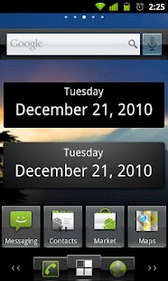 What's Today Calendar Widget- screenshot thumbnail