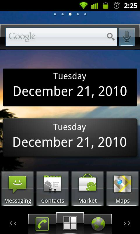 What's Today Calendar Widget- screenshot