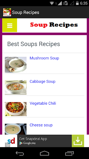 Soup Recipes Collection