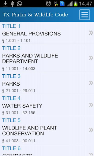 TX Parks and Wildlife Code