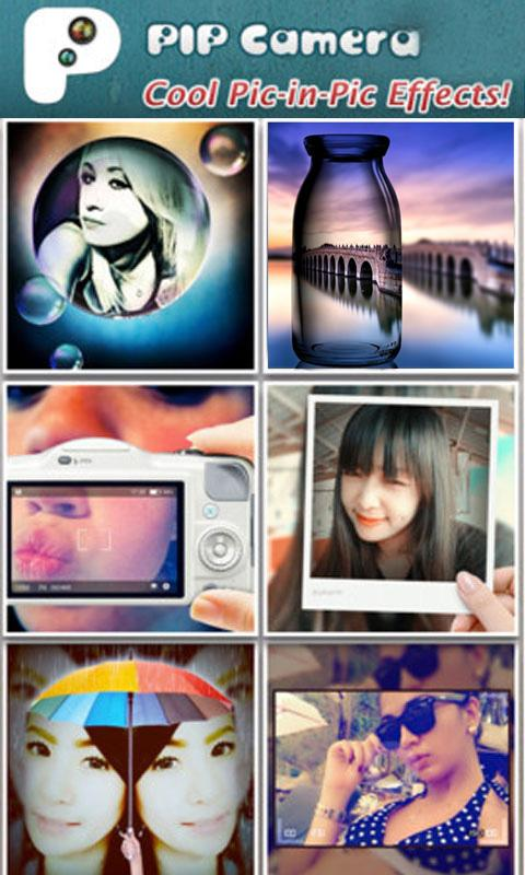 PIP Camera - Photo Effect - screenshot
