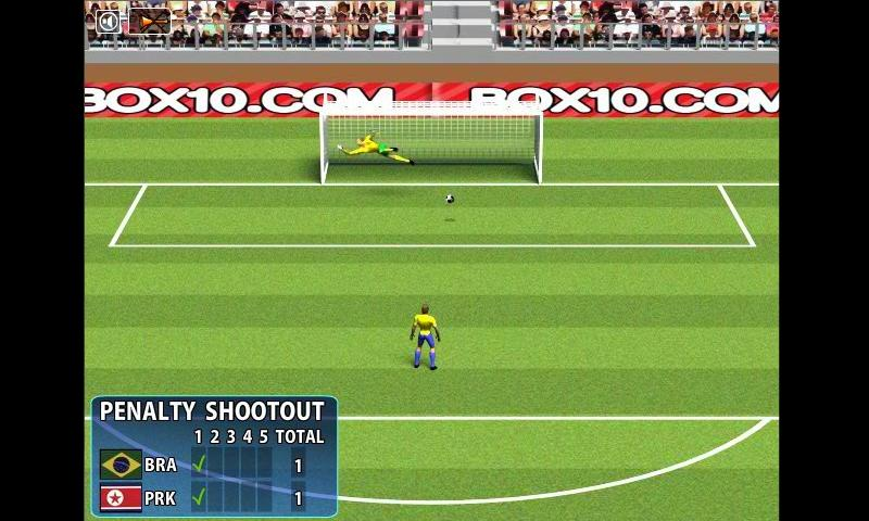 Penalty ShootOut football game - screenshot