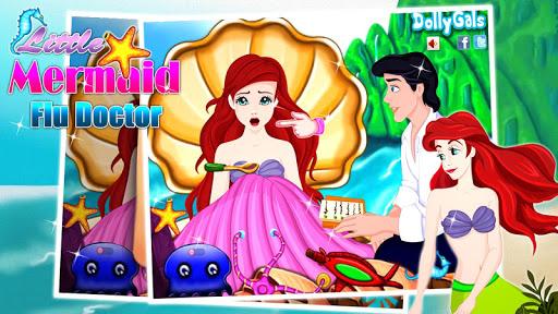 Little Mermaid Flu Doctor