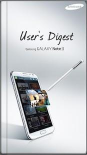GALAXY Note II User's Digest - screenshot thumbnail