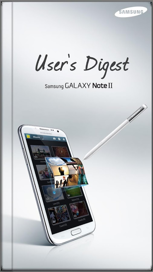 GALAXY Note II User's Digest - screenshot