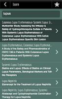 Screenshot of Clinical Trials Companion