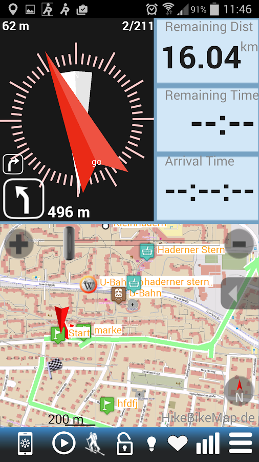 Run.GPS Trainer Lite - screenshot