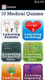 10 Learning Medical Quizzes- screenshot thumbnail