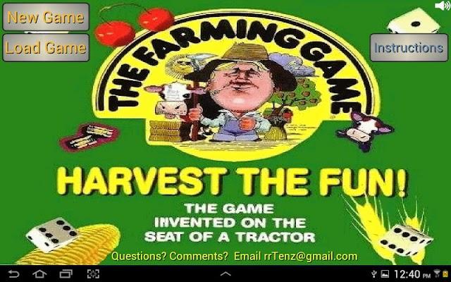 The Farming Game Lite - screenshot