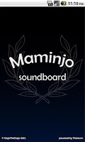 Screenshot of Maminjo soundboard