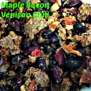 Maple Bacon Venison Chili.