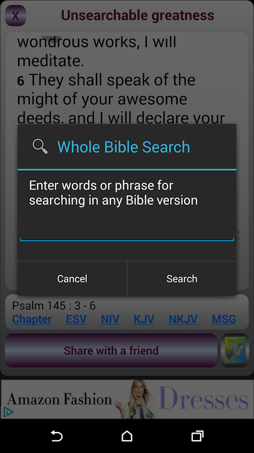 Uplifting Psalms Daily- screenshot
