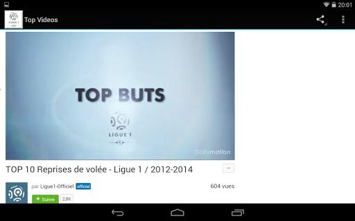 FootBall Ligue1 Infos