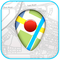 GPS Map using Google Maps icon