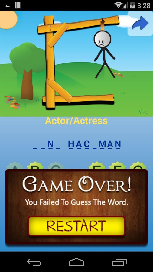 how to play hangman on imessage