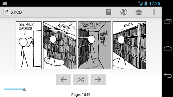 XKCD browser