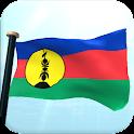 Nueva Caledonia Bandera 3D icon