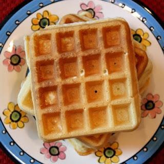 Sweet Milk Waffles.