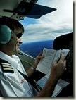 飞行员阅读方向