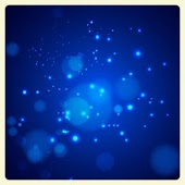 Blue Bokeh Live Wallpaper