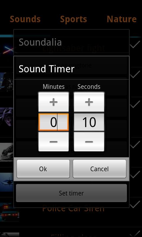 Soundalia source of all sounds- screenshot