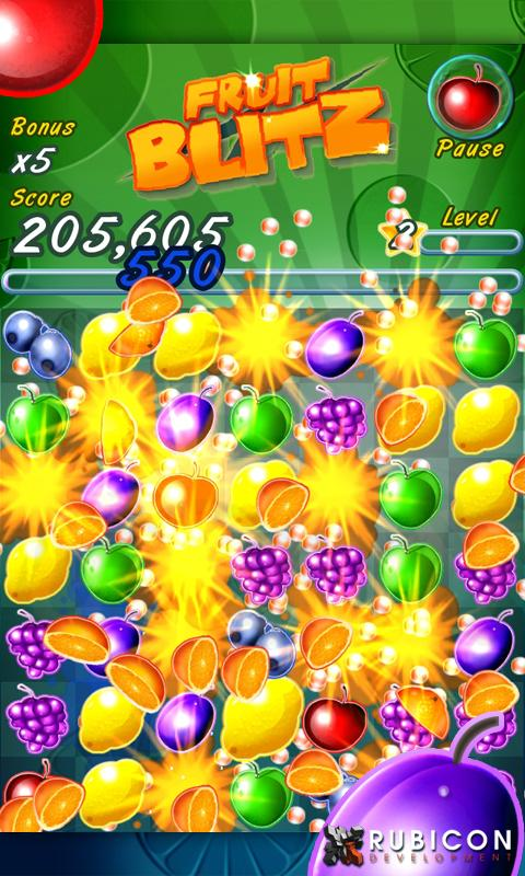 Fruit Blitz Free- screenshot