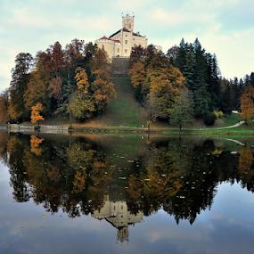 in autumn by Dragutin Vrbanec - City,  Street & Park  Historic Districts