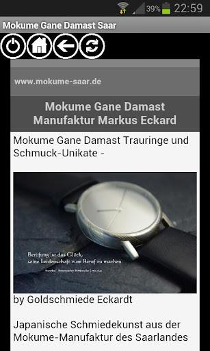 Mokume Gane Damast Saar