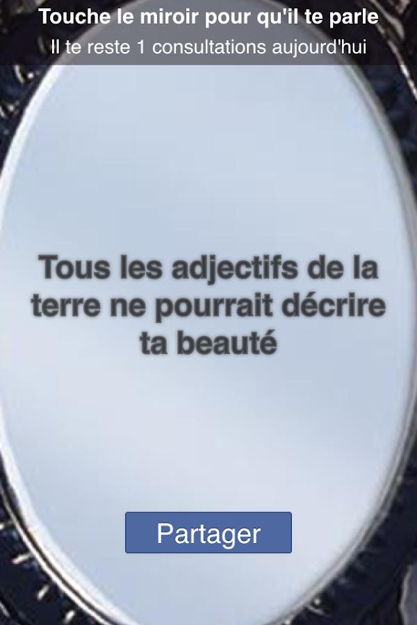 Mon beau miroir android apps on google play for Miroir mon beau miroir