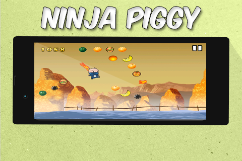 Ninja Piggy Jump Adventures