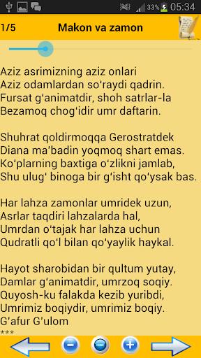 O'zbek she'riyati