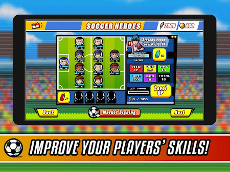 Soccer Heroes RPG 1.1.0 screenshot 38020