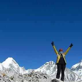 Khumbu Region by Marissa Rivero - Landscapes Mountains & Hills