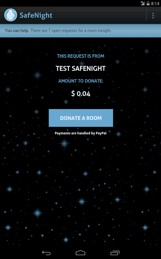 SafeNight - screenshot