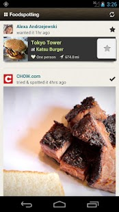 Foodspotting- screenshot thumbnail