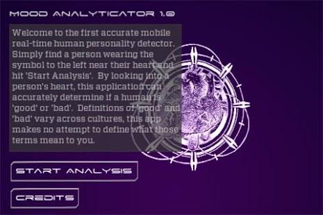 Mood Analyticator- screenshot thumbnail