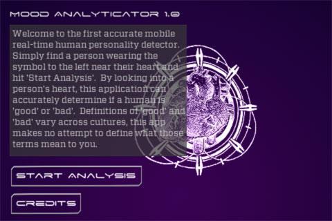 Mood Analyticator- screenshot