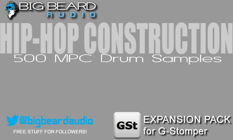 G-Stomper HipHop Sample Pack - screenshot