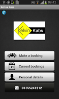 Screenshot of Kelvin Kabs East Kilbride