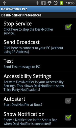 DeskNotifier Pro