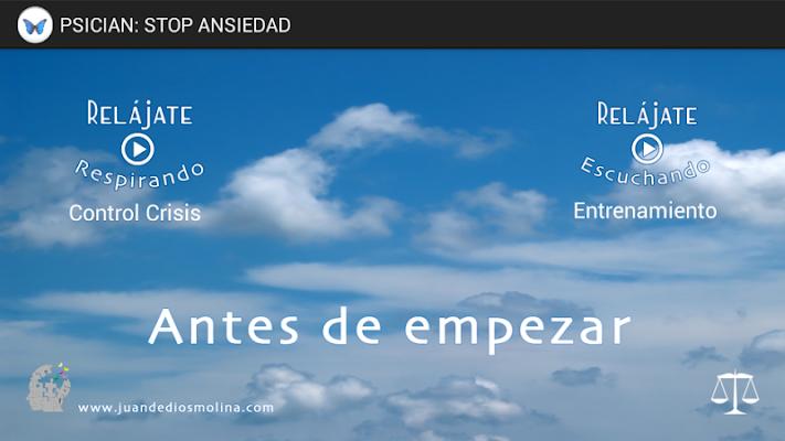 PsiCian: Stop Ansiedad - screenshot