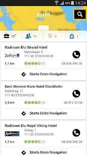 Eniro - Sök företag & personer - screenshot thumbnail