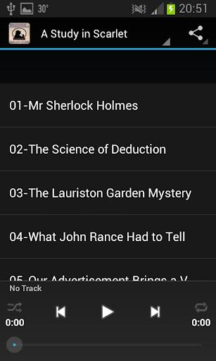 【免費書籍App】福爾摩斯有聲讀物-APP點子