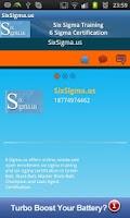 Screenshot of SixSigma.us