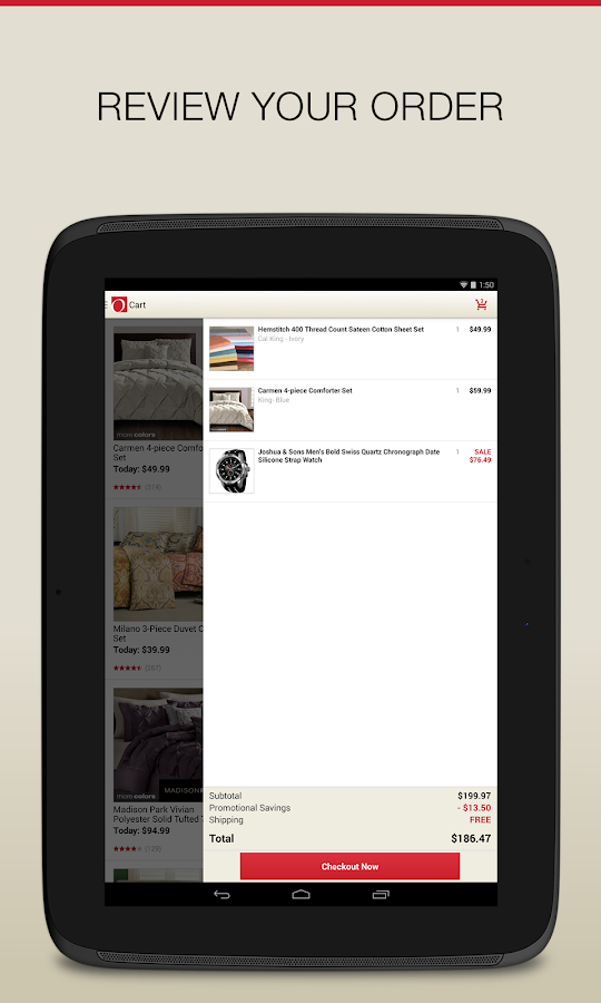 Overstock.com - Shopping App - screenshot