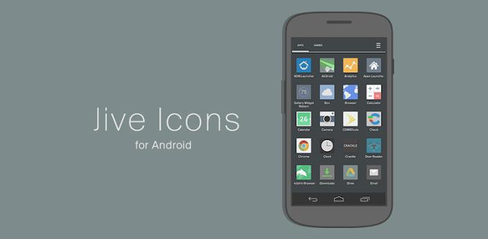 Jive Icons (Apex, Nova, ADW) v2.1.8 Apk