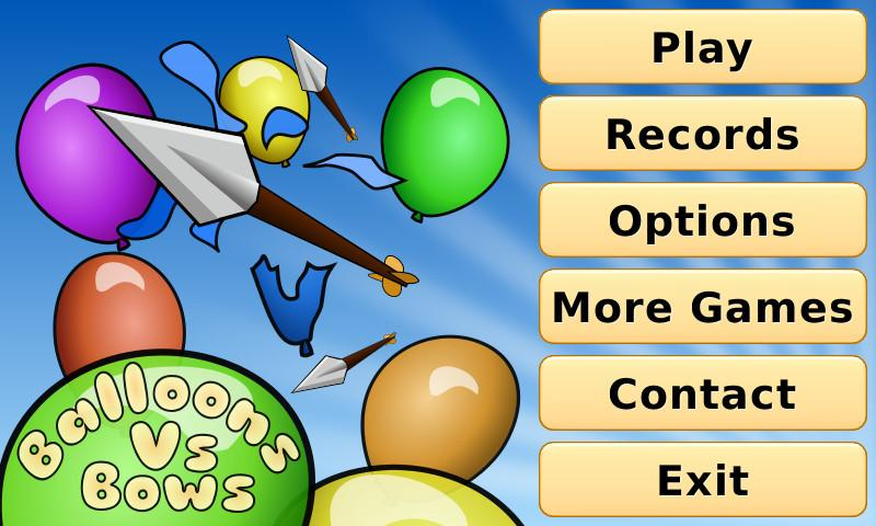 Balloons Vs Bows Shooter- screenshot