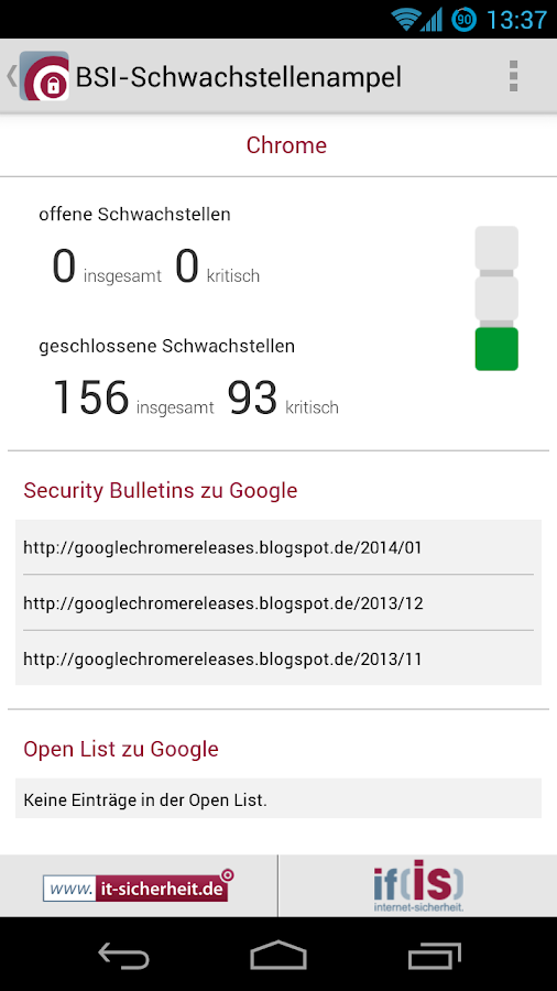 securityNews - screenshot