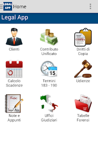 Legal App - náhled
